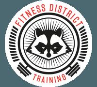 logo fitness district